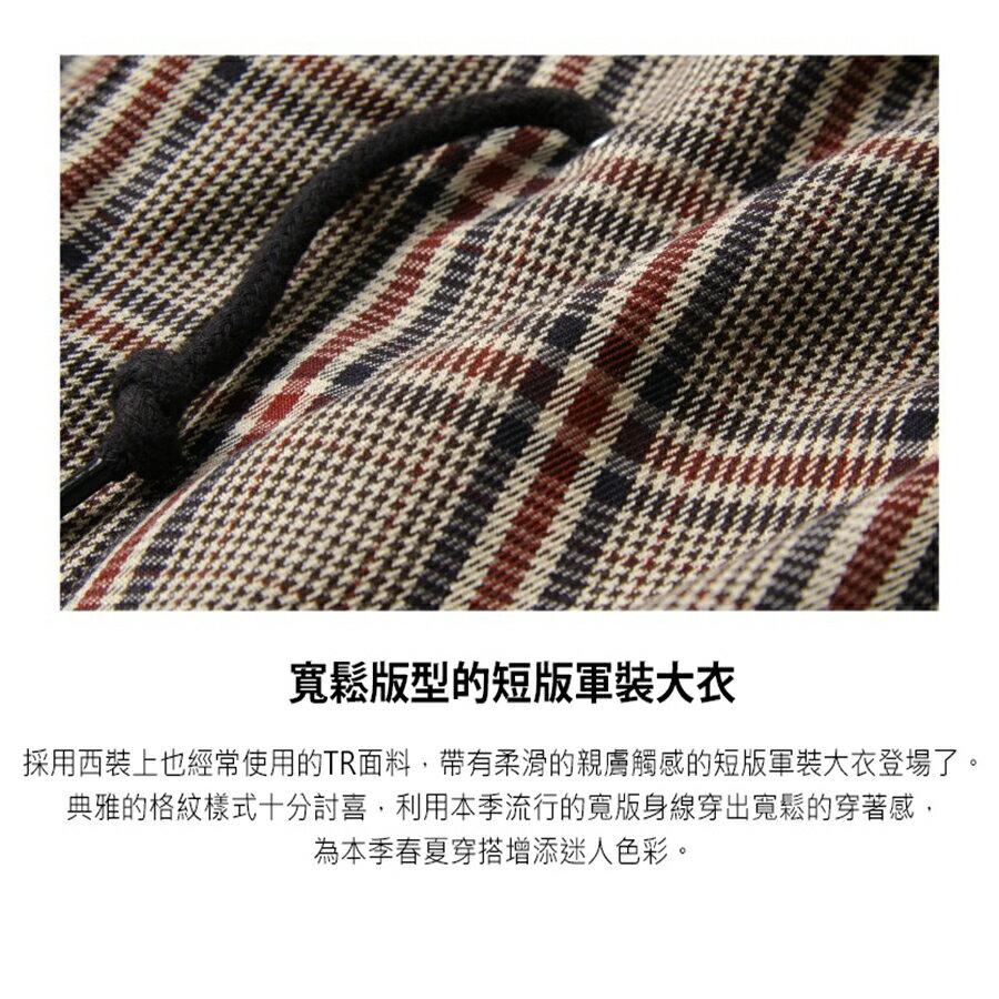 【New】ZIP 摩斯MODS大衣 短版 6