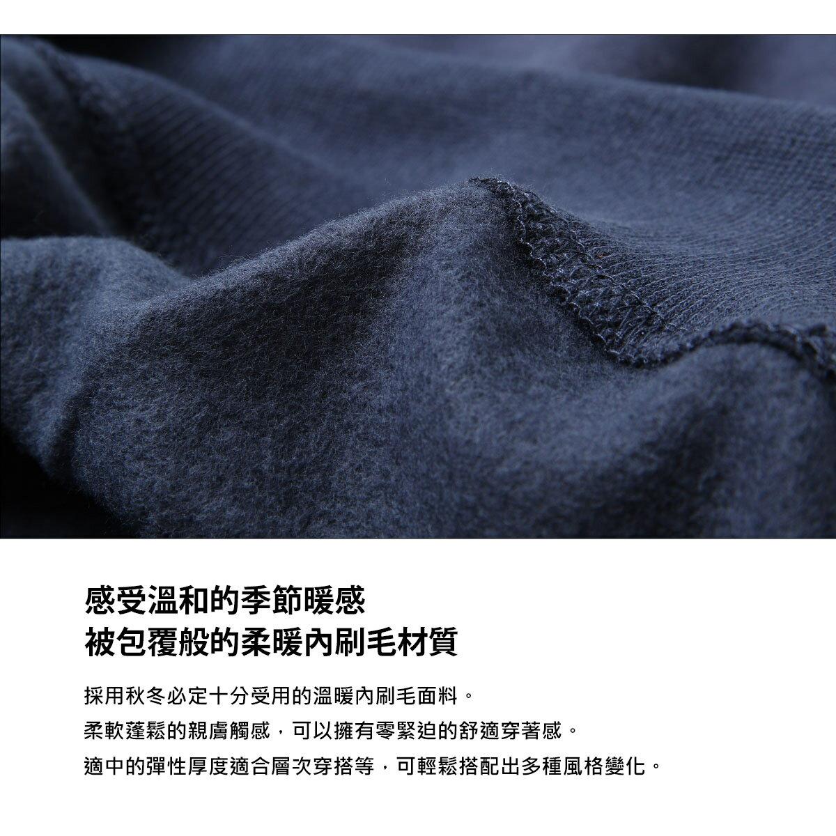 【ZIP】背後印刷刷毛運動衫 照片印刷 玫瑰 6