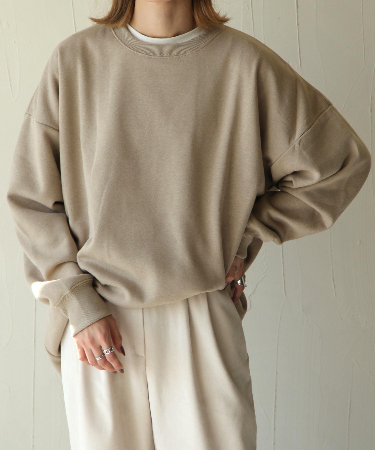 【Chillfar】內刷毛後衣襬開岔運動衫 寬版 OVERSIZE 1