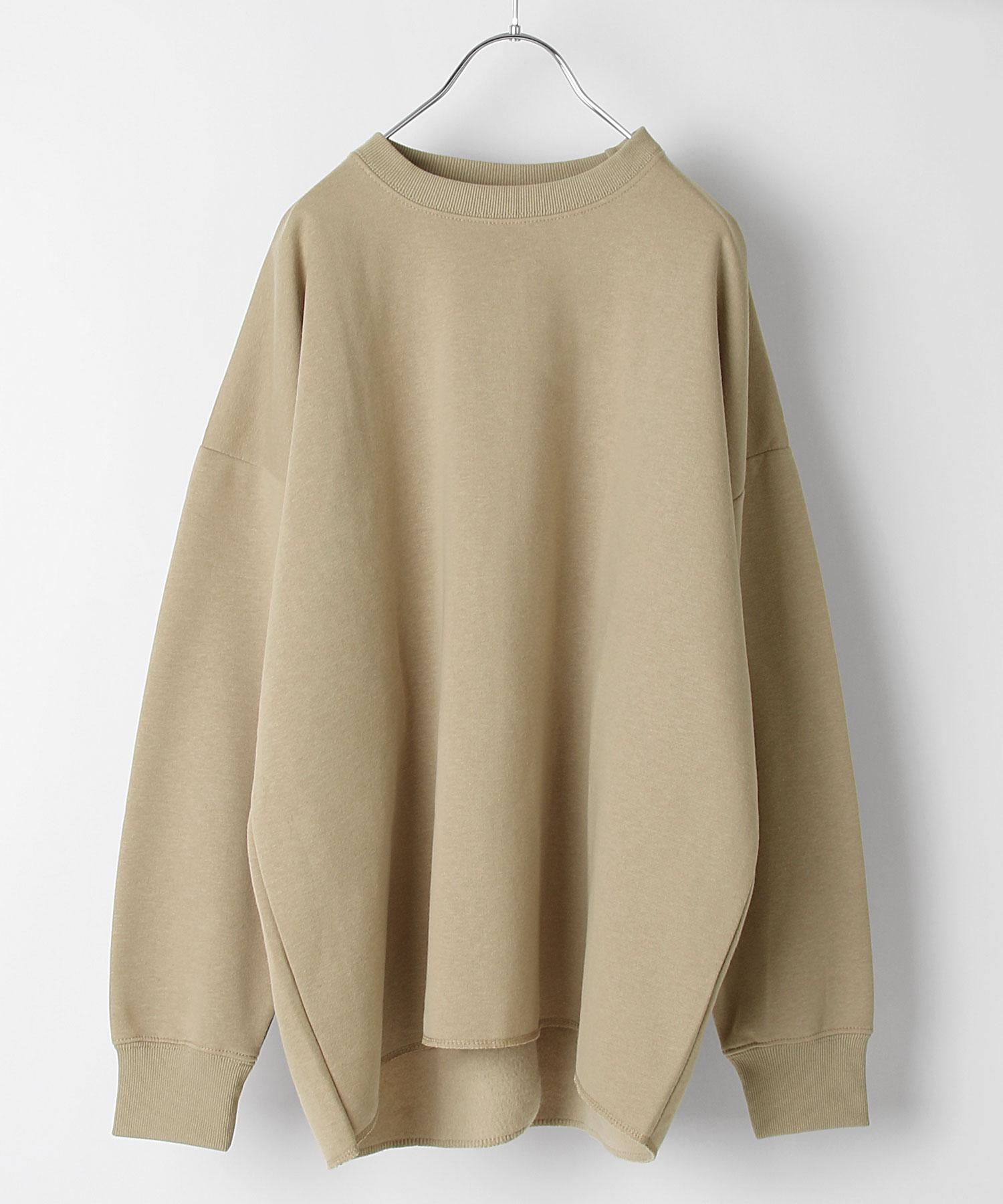 【Chillfar】內刷毛後衣襬開岔運動衫 寬版 OVERSIZE 7