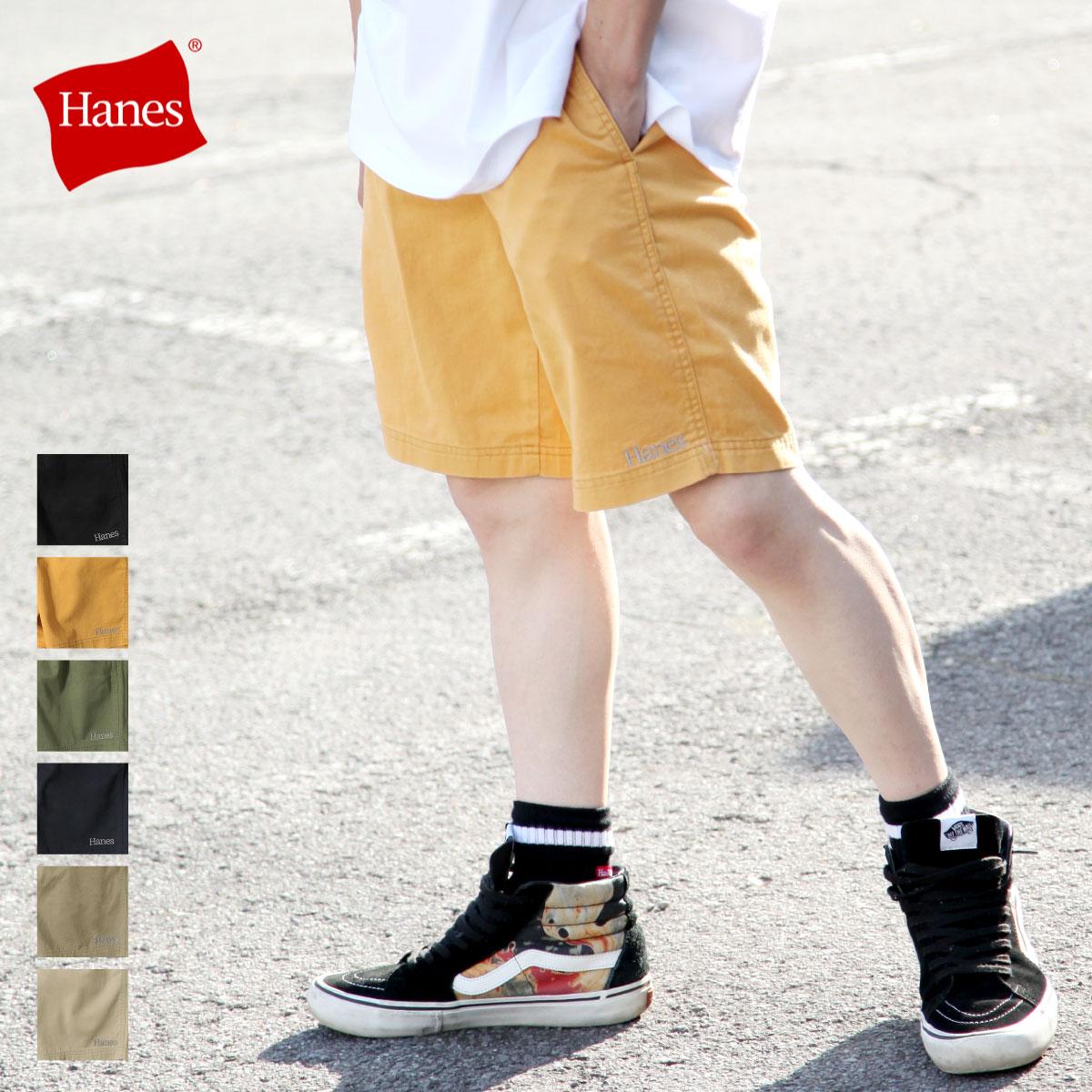 【APP領券再九折】【HANES】直筒鬆緊短褲 對應大尺碼 0