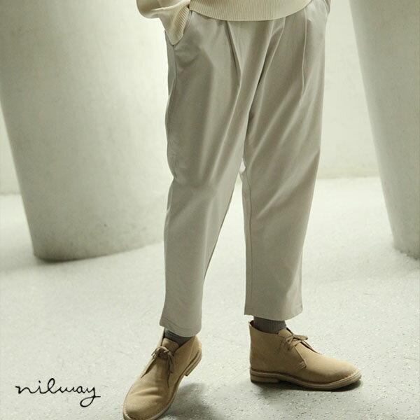 【Nilway】強捻紗飛鼠褲 0