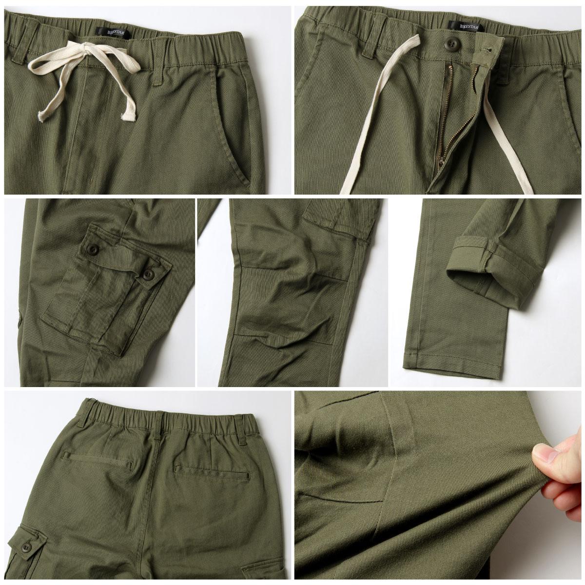 【New】ZIP 錐形窄管褲 工裝窄管 3