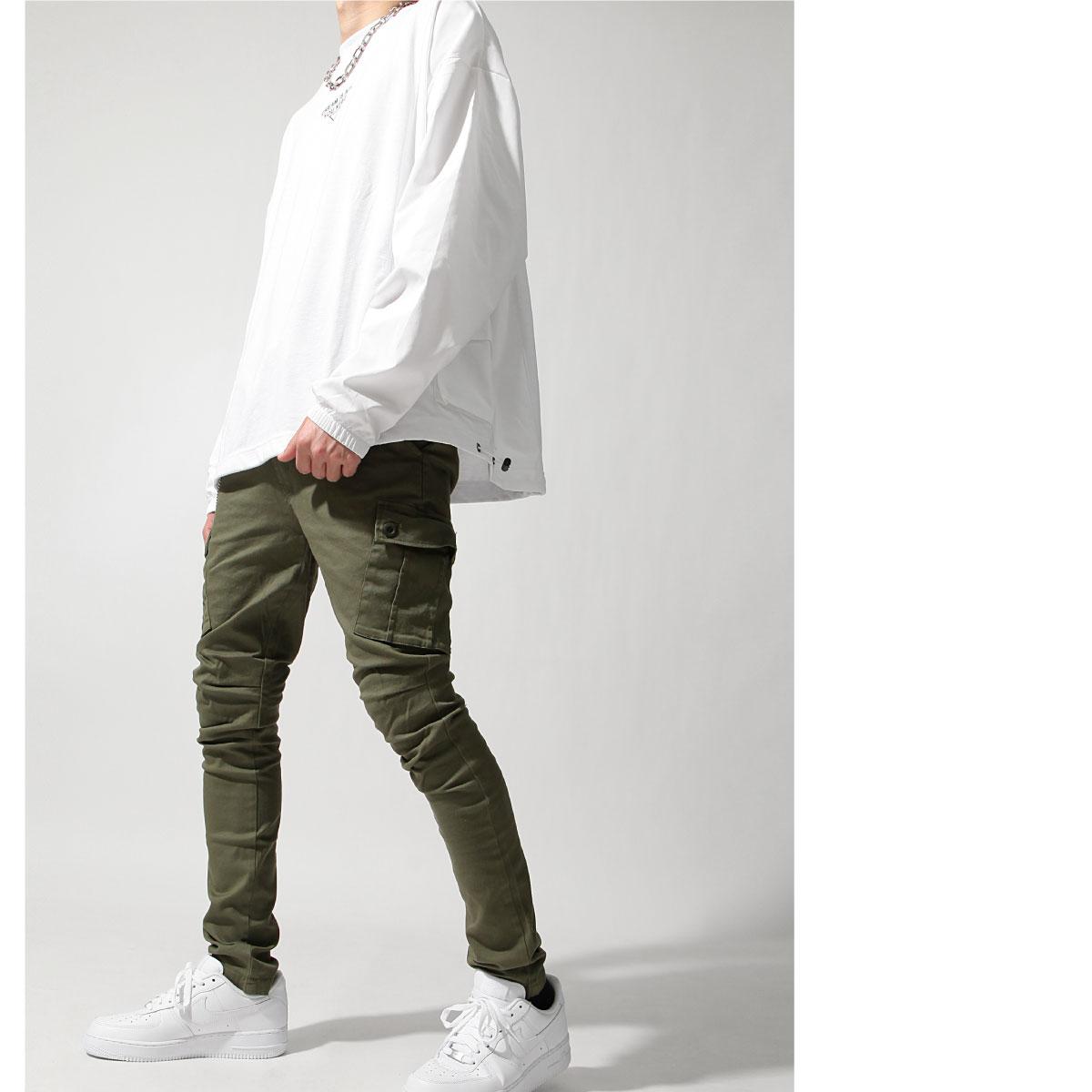 【New】ZIP 錐形窄管褲 工裝窄管 4