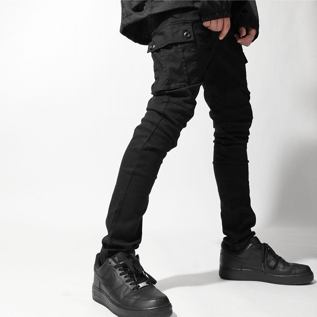 【New】ZIP 錐形窄管褲 工裝窄管 5