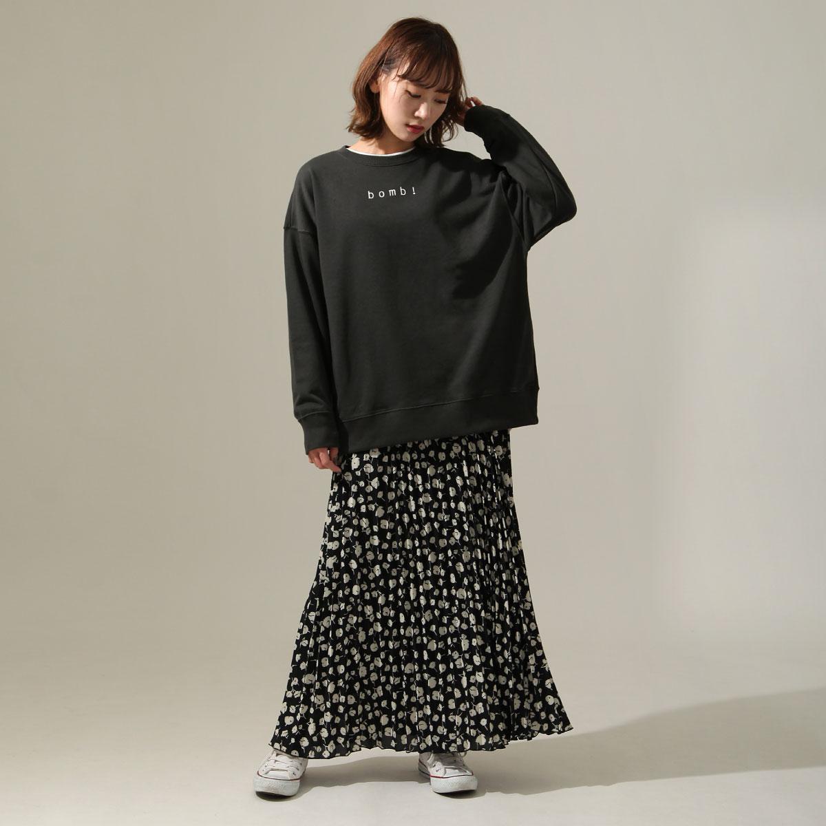 女裝 LOGO設計寬版運動衫 8