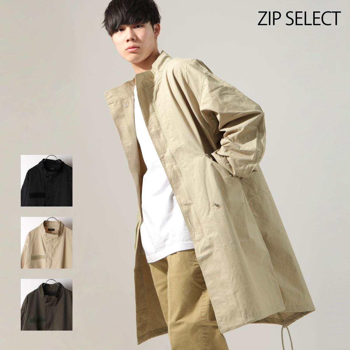 【New】ZIP 摩斯MODS大衣 長板 0