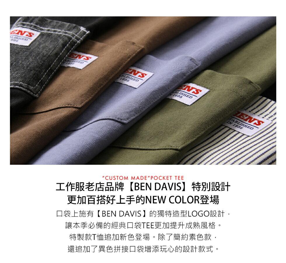【BEN DAVIS】拼接LOGO口袋TEE 8