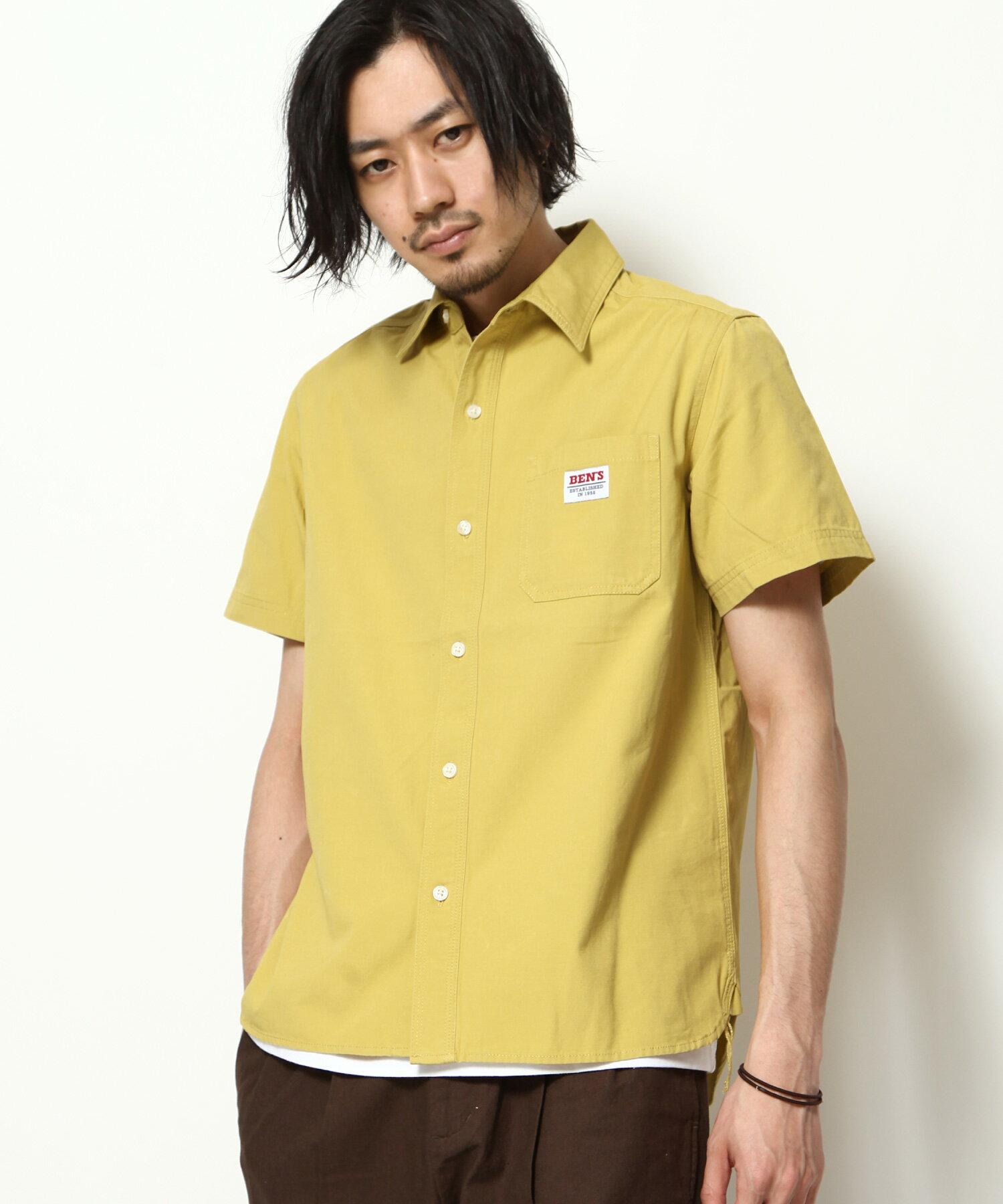 【BEN DAVIS】LOGO名牌刺繡工裝襯衫 短袖 6