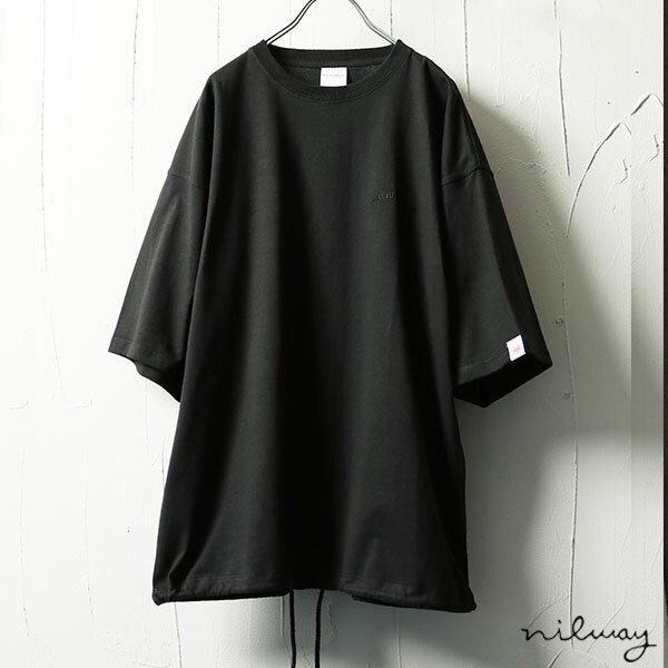 【Nilway】寬版五分袖TEE 100%美國棉 0