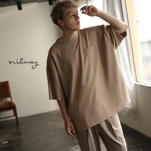 【Nilway】五分袖圓領TEE 0