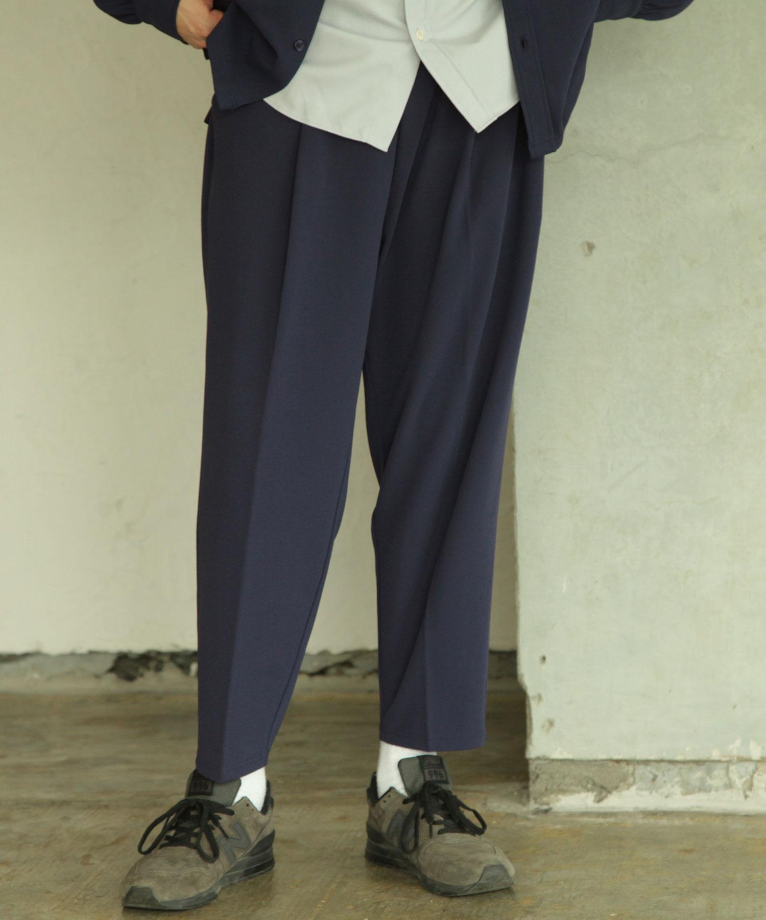 【Nilway】錐形鬆緊長褲 2
