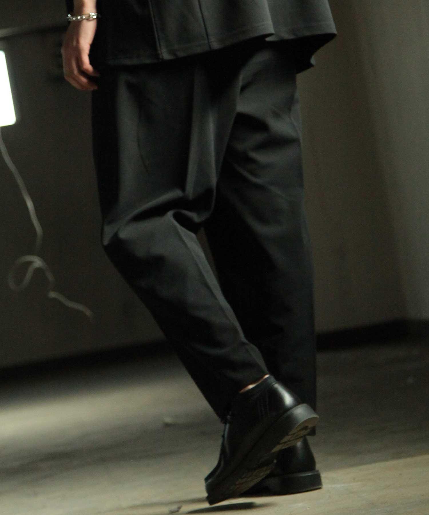 【Nilway】錐形鬆緊長褲 3