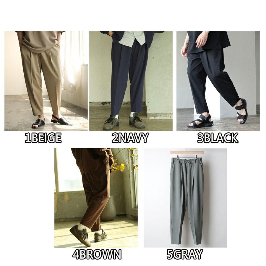 【Nilway】錐形鬆緊長褲 5