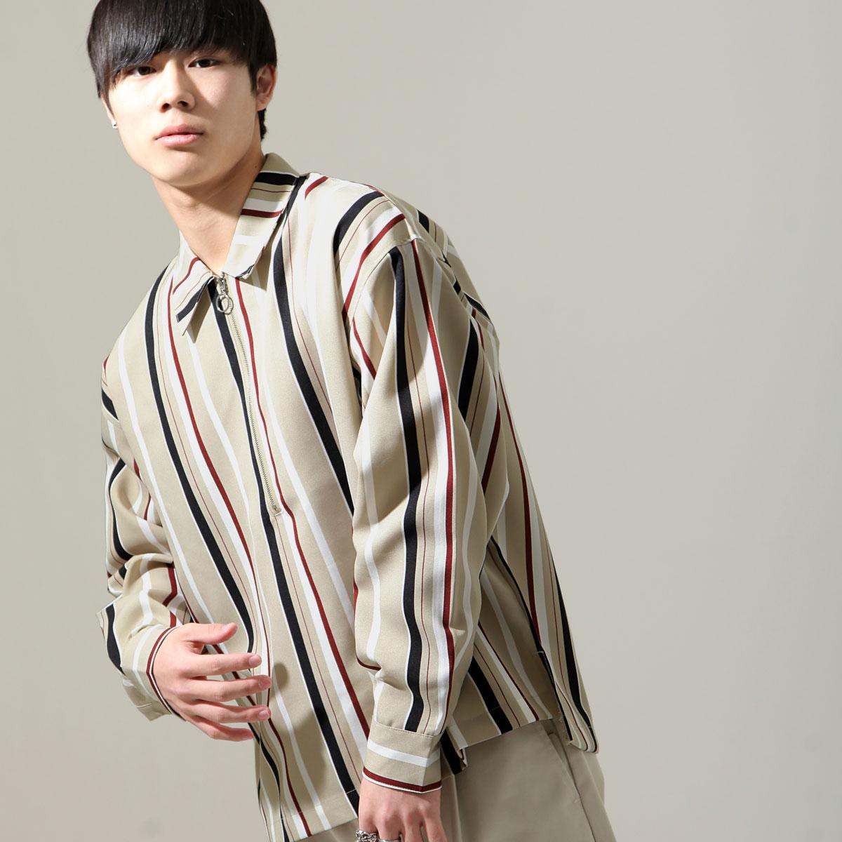 【New】ZIP 半拉鍊長袖襯衫 8