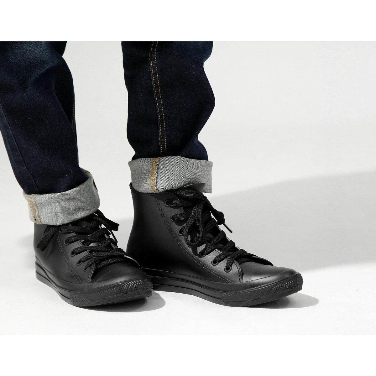 【New】ZIP 長筒 綁鞋帶雨鞋 2