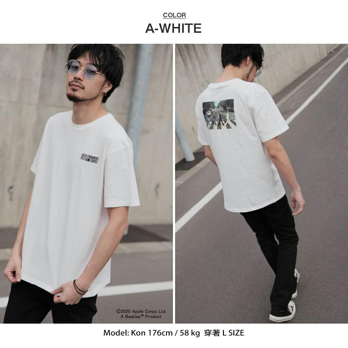 【New】披頭四印刷短袖T恤  Abbey Road 艾比路 披頭四 3