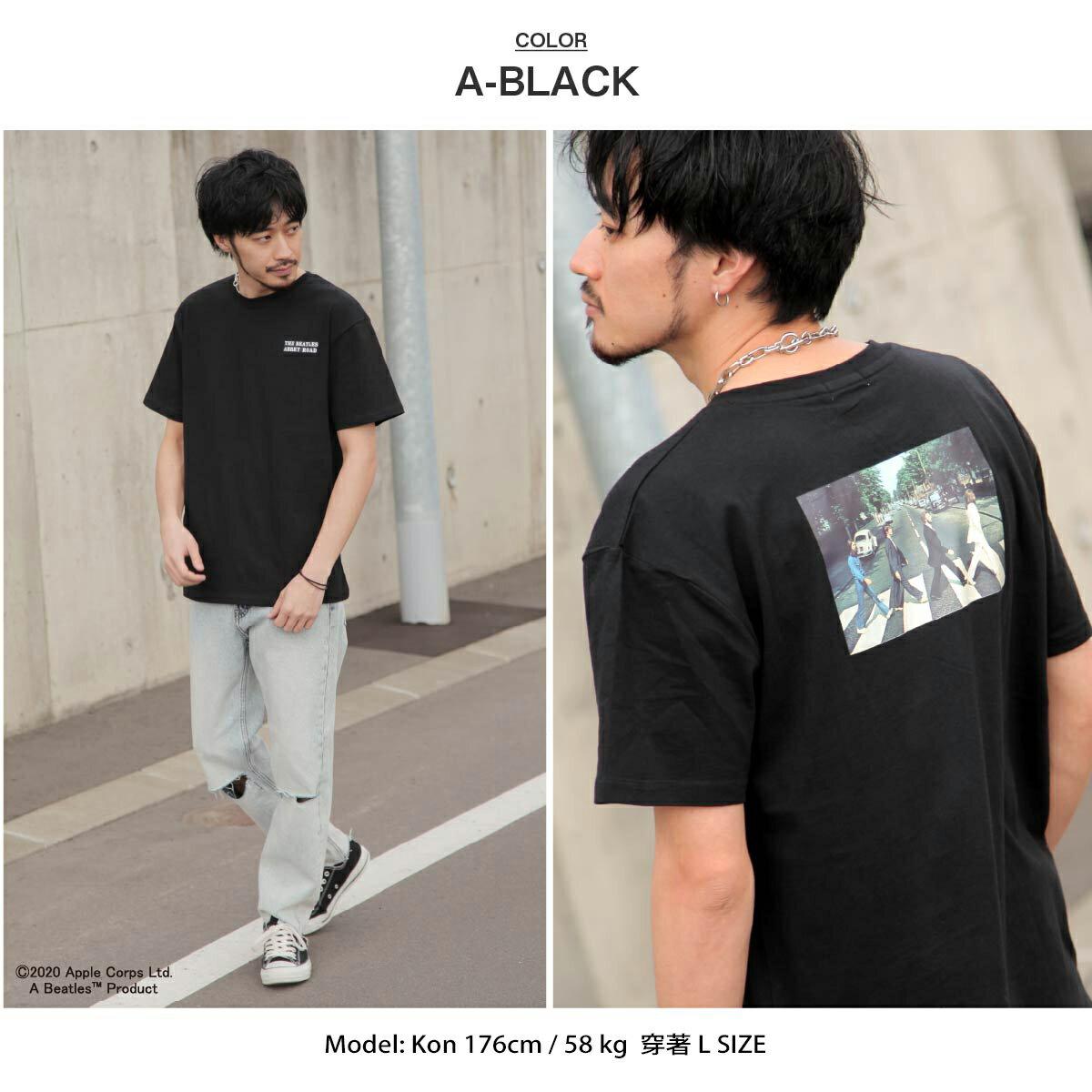 【New】披頭四印刷短袖T恤  Abbey Road 艾比路 披頭四 4