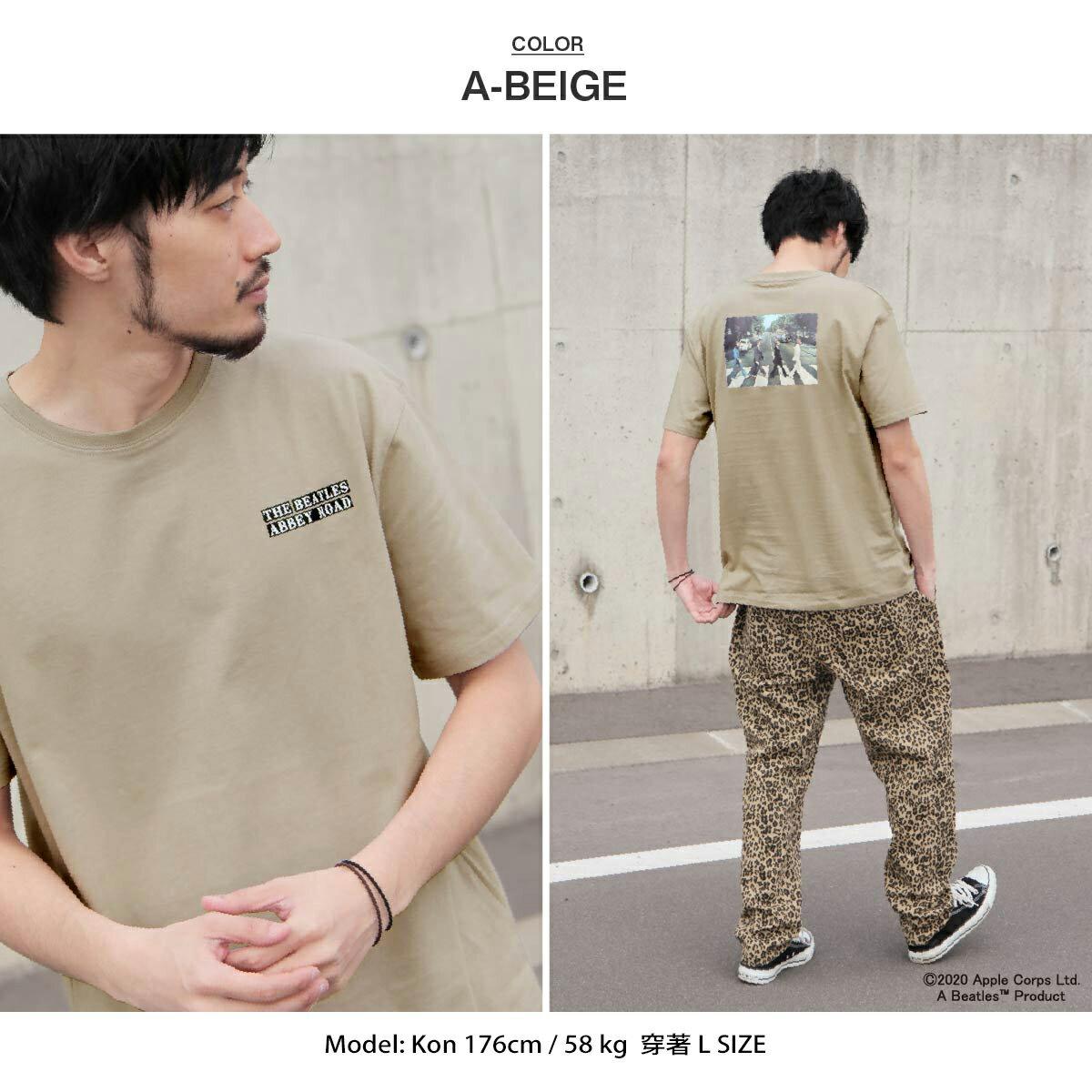 【New】披頭四印刷短袖T恤  Abbey Road 艾比路 披頭四 5