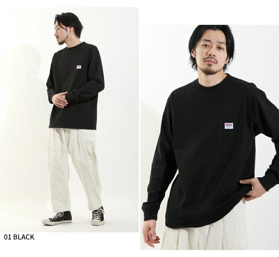 【BEN DAVIS】LOGO名牌刺繡長袖T恤 別注款 4