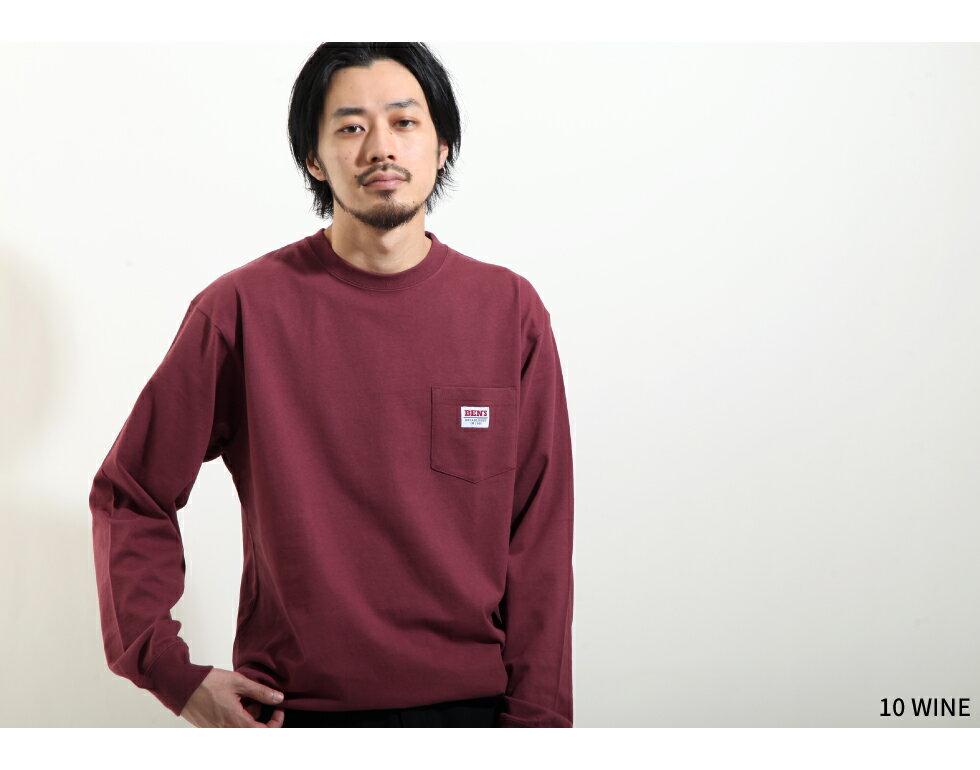 【BEN DAVIS】LOGO名牌刺繡長袖T恤 別注款 6