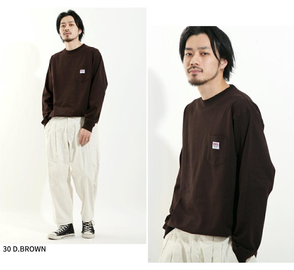 【BEN DAVIS】LOGO名牌刺繡長袖T恤 別注款 7