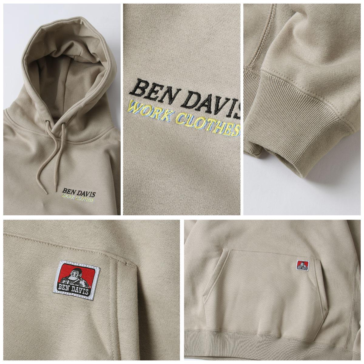 【BEN DAVIS】微笑猿人廣告連帽TEE 別注款 2