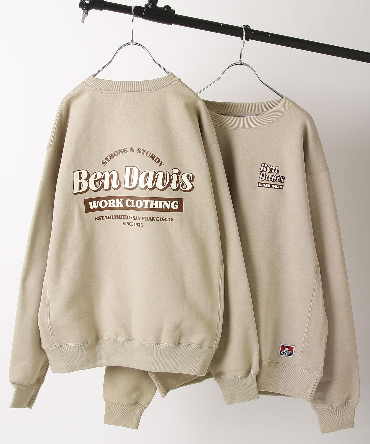 【BEN DAVIS】工藝品圓領運動衫 1