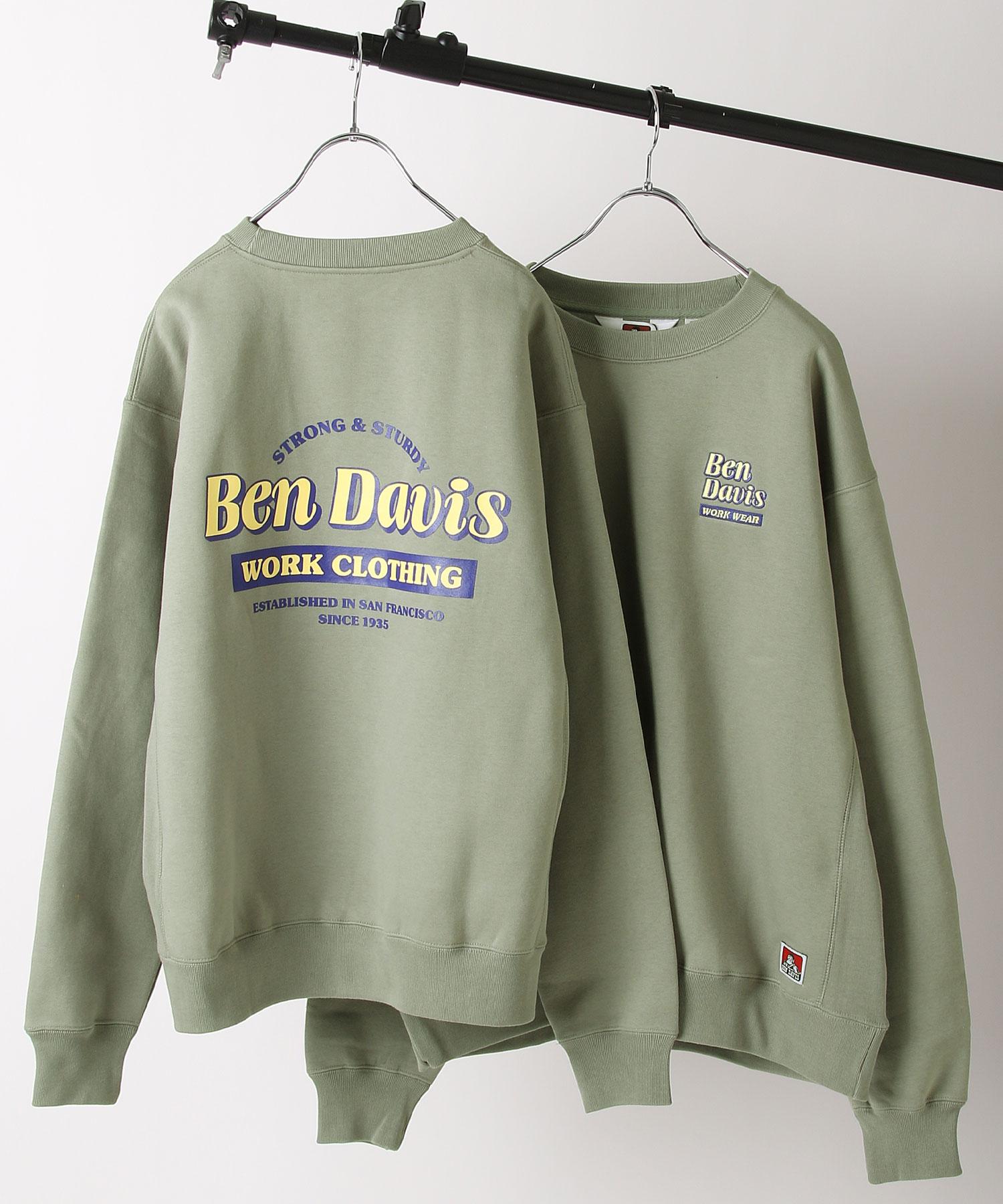 【BEN DAVIS】工藝品圓領運動衫 2