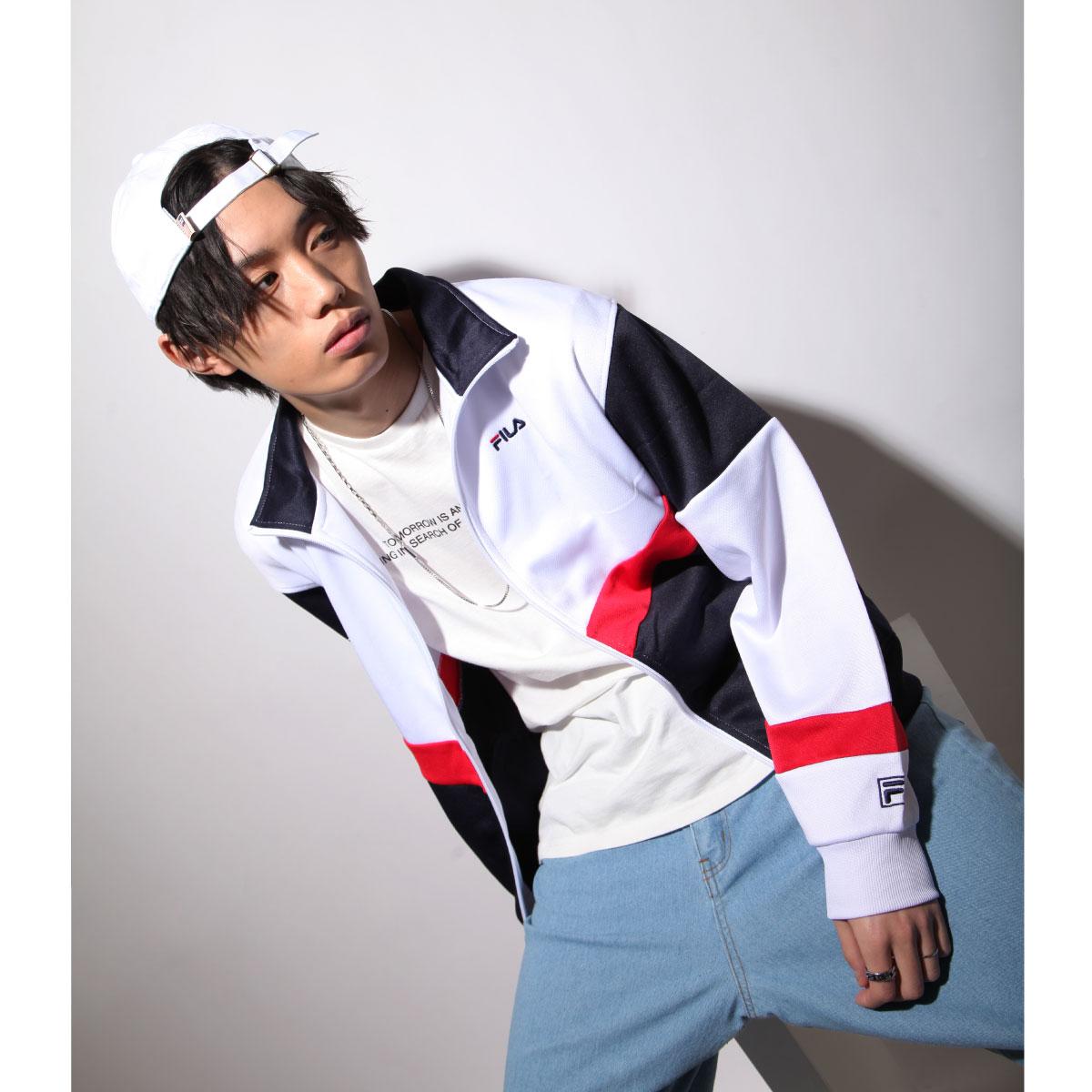 【FILA】立領運動夾克 1