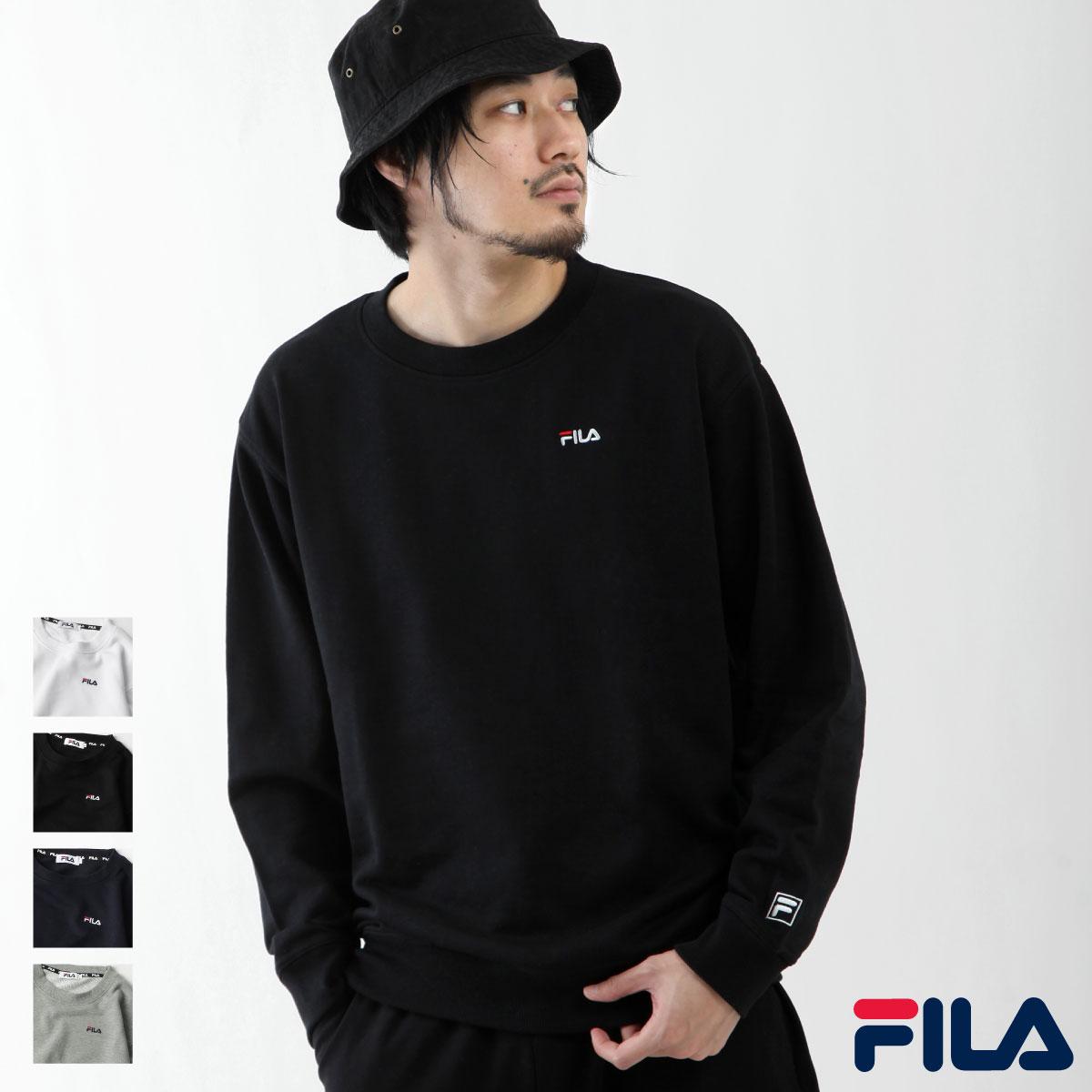 【FILA】LOGO刺繡運動衫 0