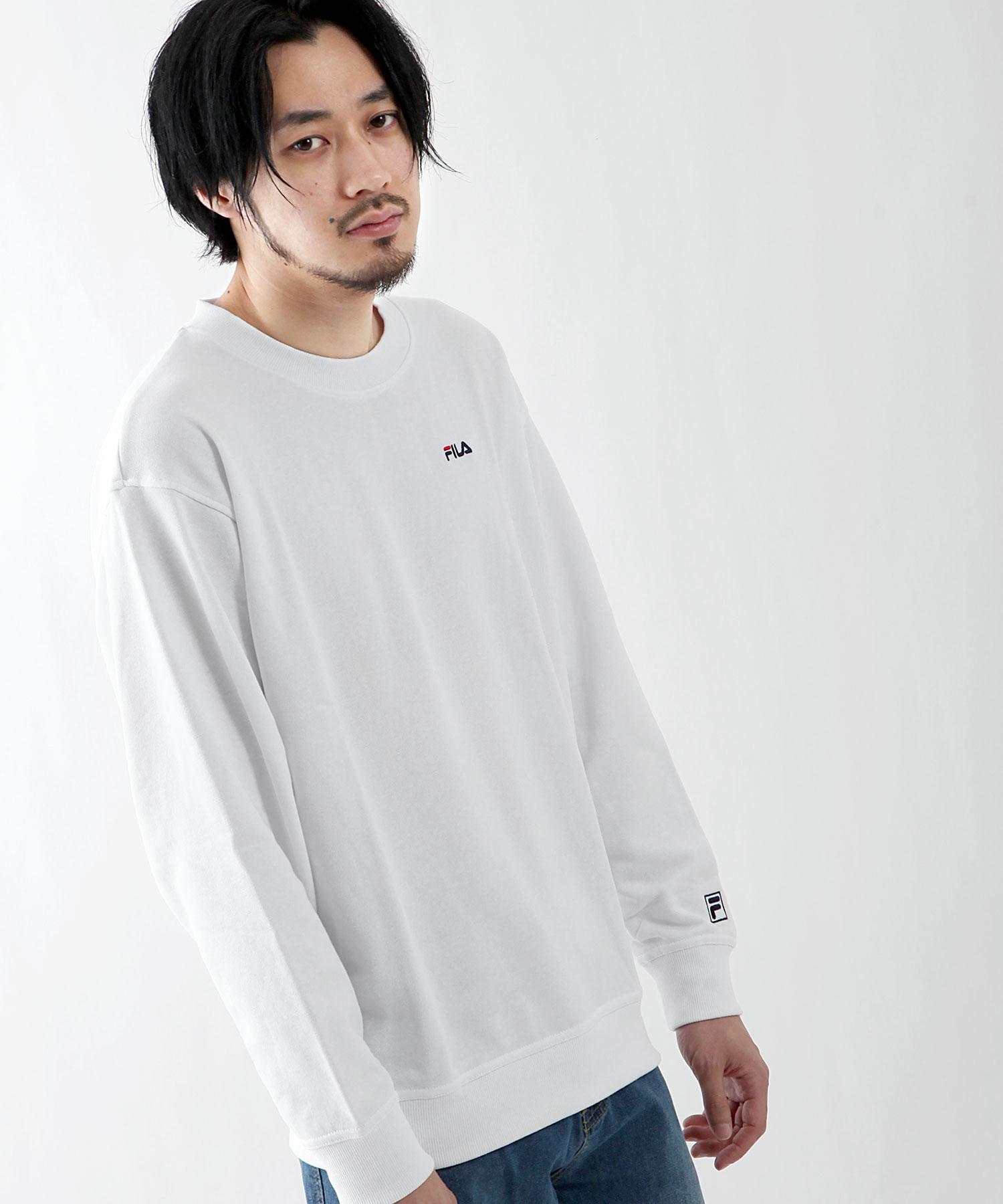 【FILA】LOGO刺繡運動衫 3