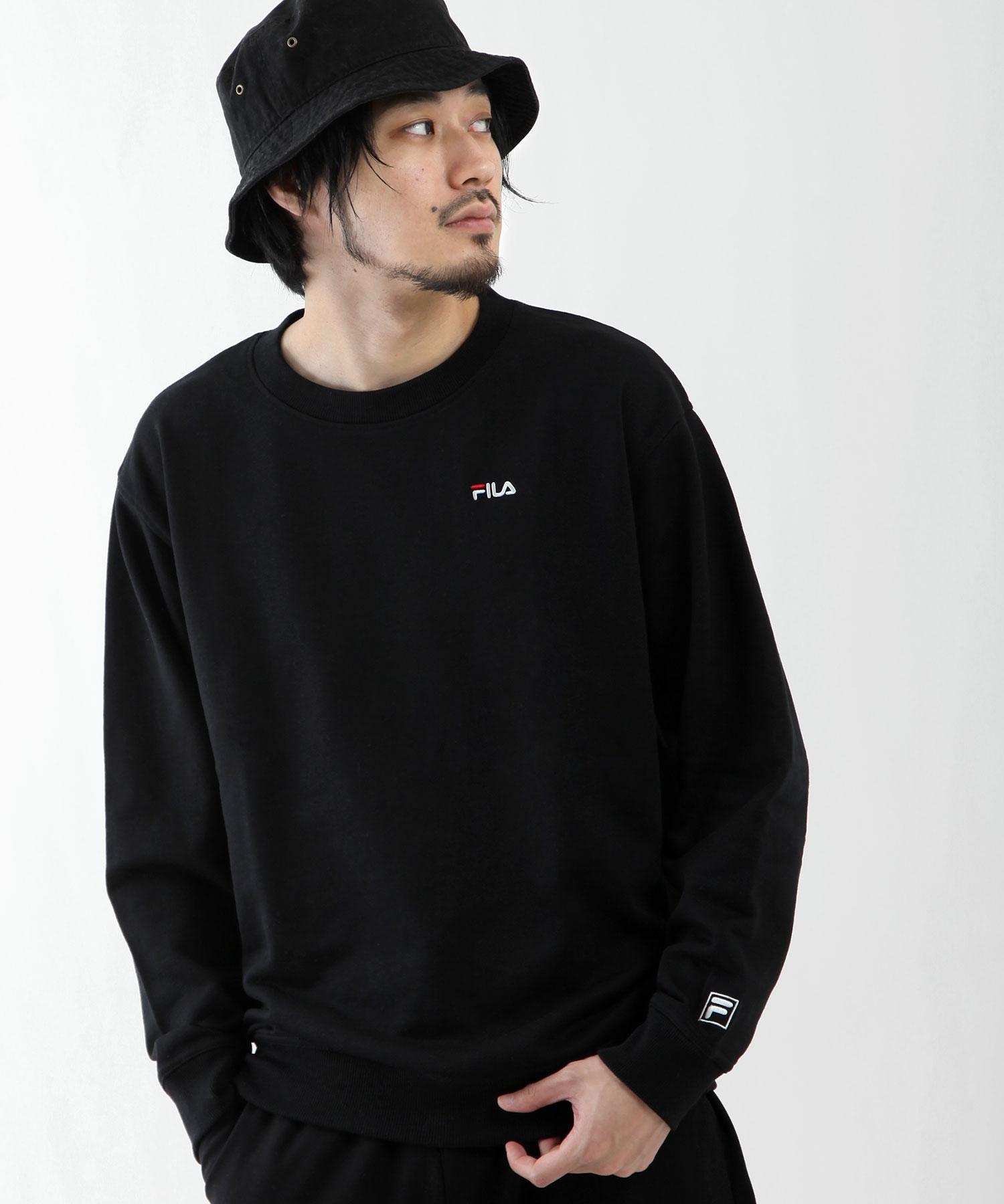 【FILA】LOGO刺繡運動衫 1