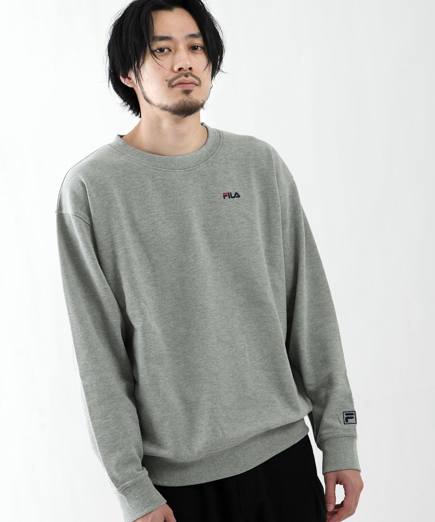 【FILA】LOGO刺繡運動衫 4