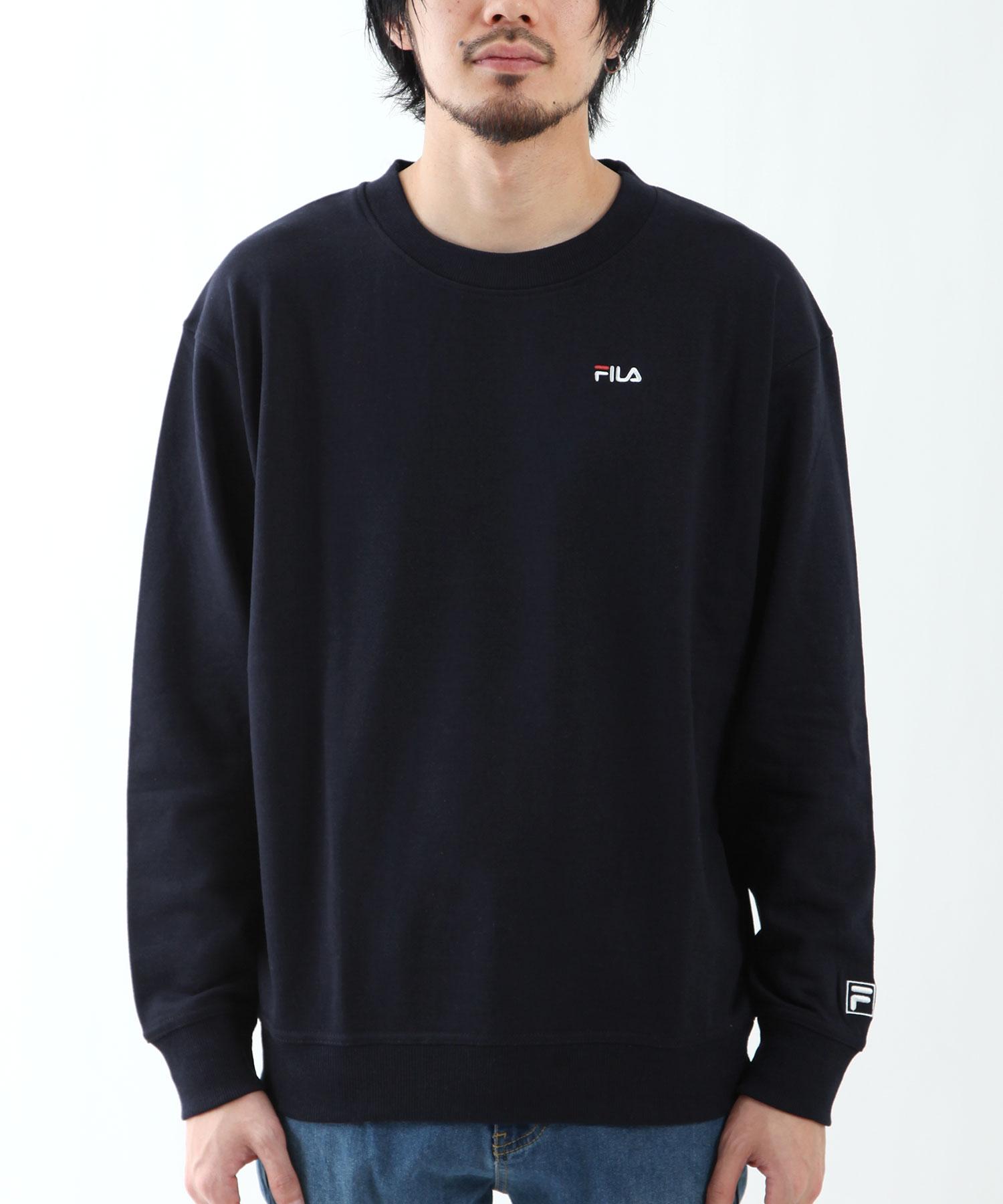 【FILA】LOGO刺繡運動衫 5