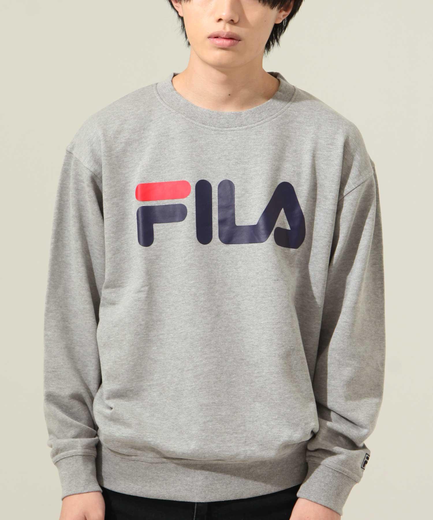 【FILA】經典LOGO印刷運動衫 1