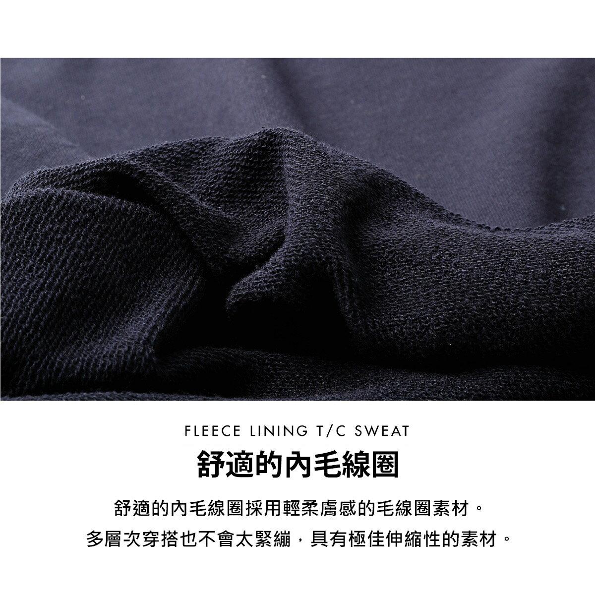 【FILA】單點LOGO刺繡圓領運動衫 4