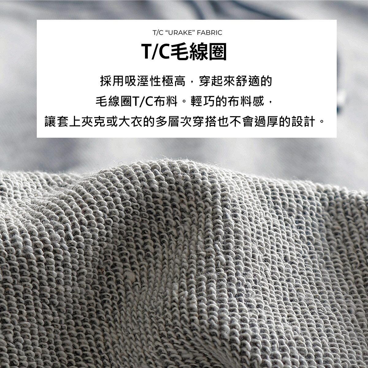【FILA】單點LOGO刺繡連帽T恤 4