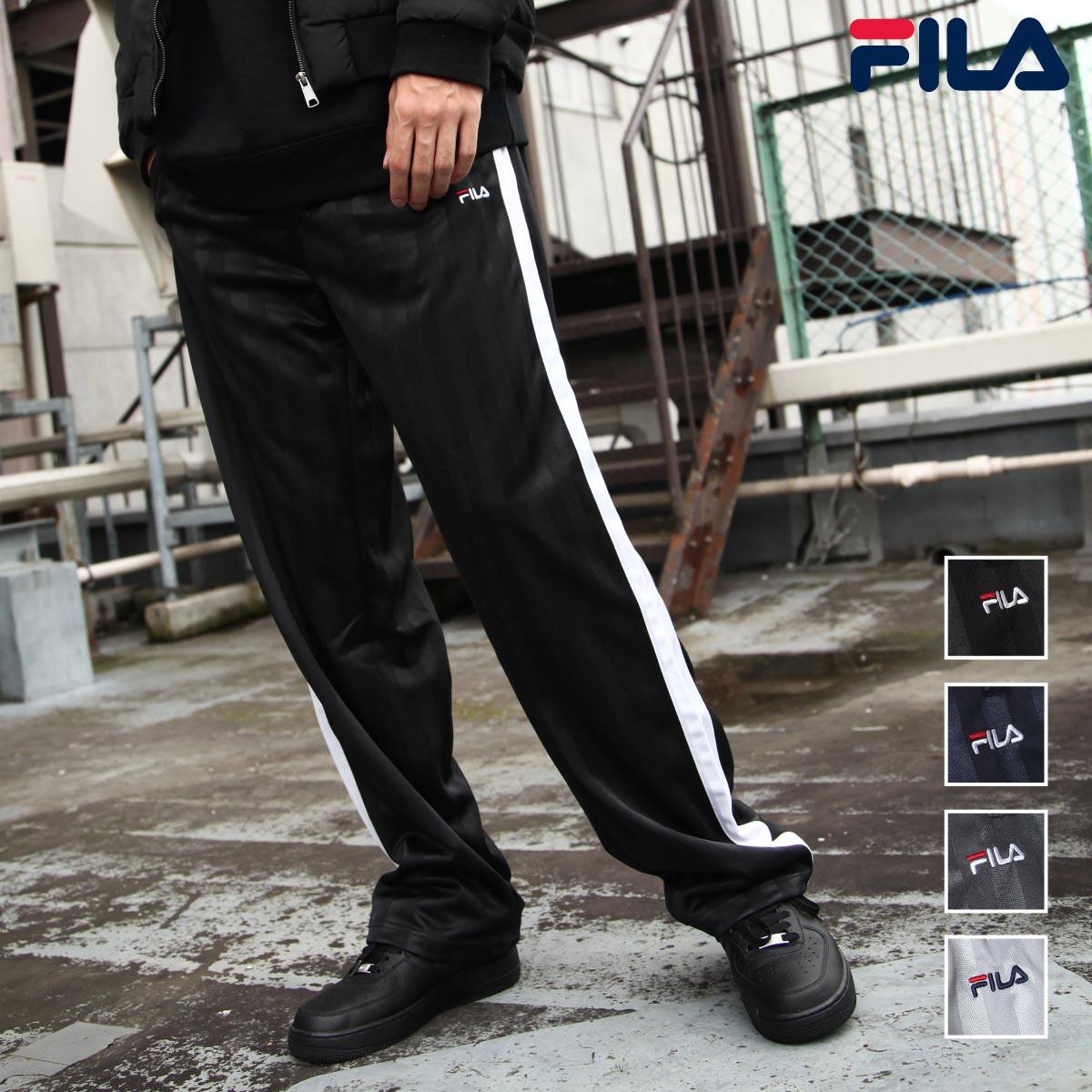 【FILA】寬版針織運動褲 0