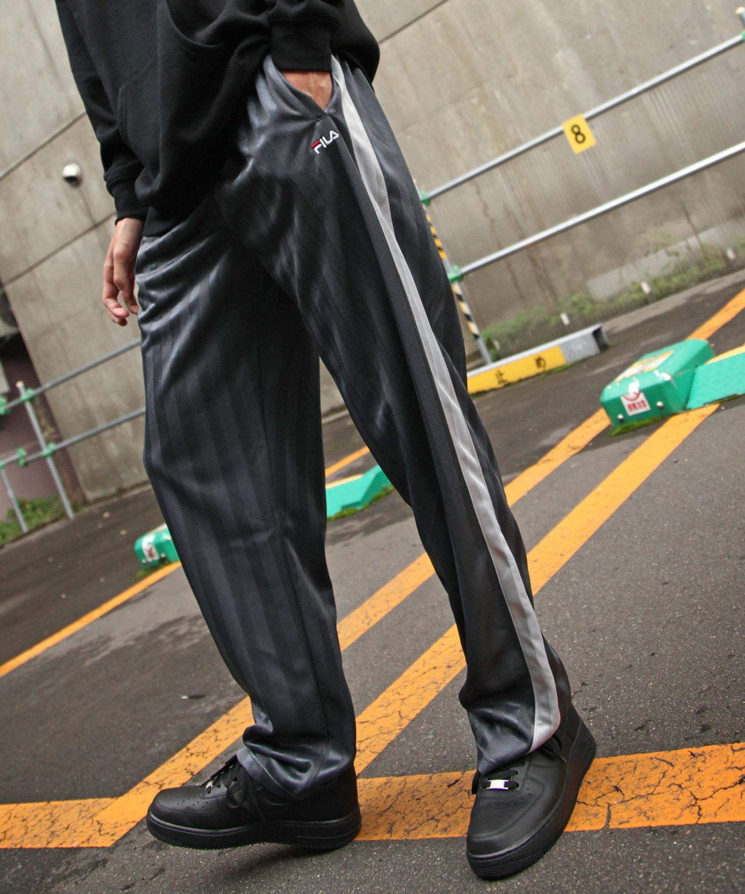 【FILA】寬版針織運動褲 4