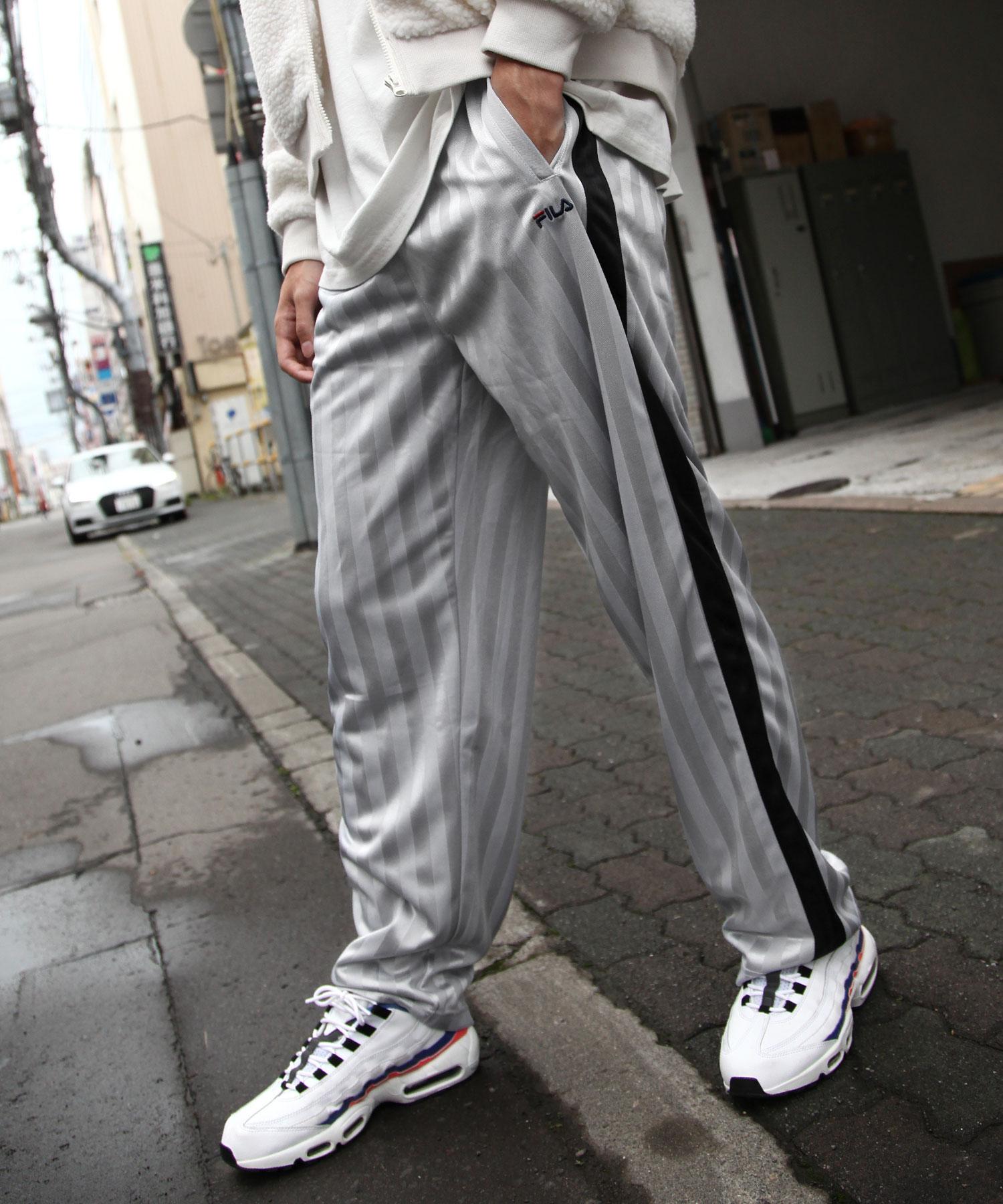 【FILA】寬版針織運動褲 5