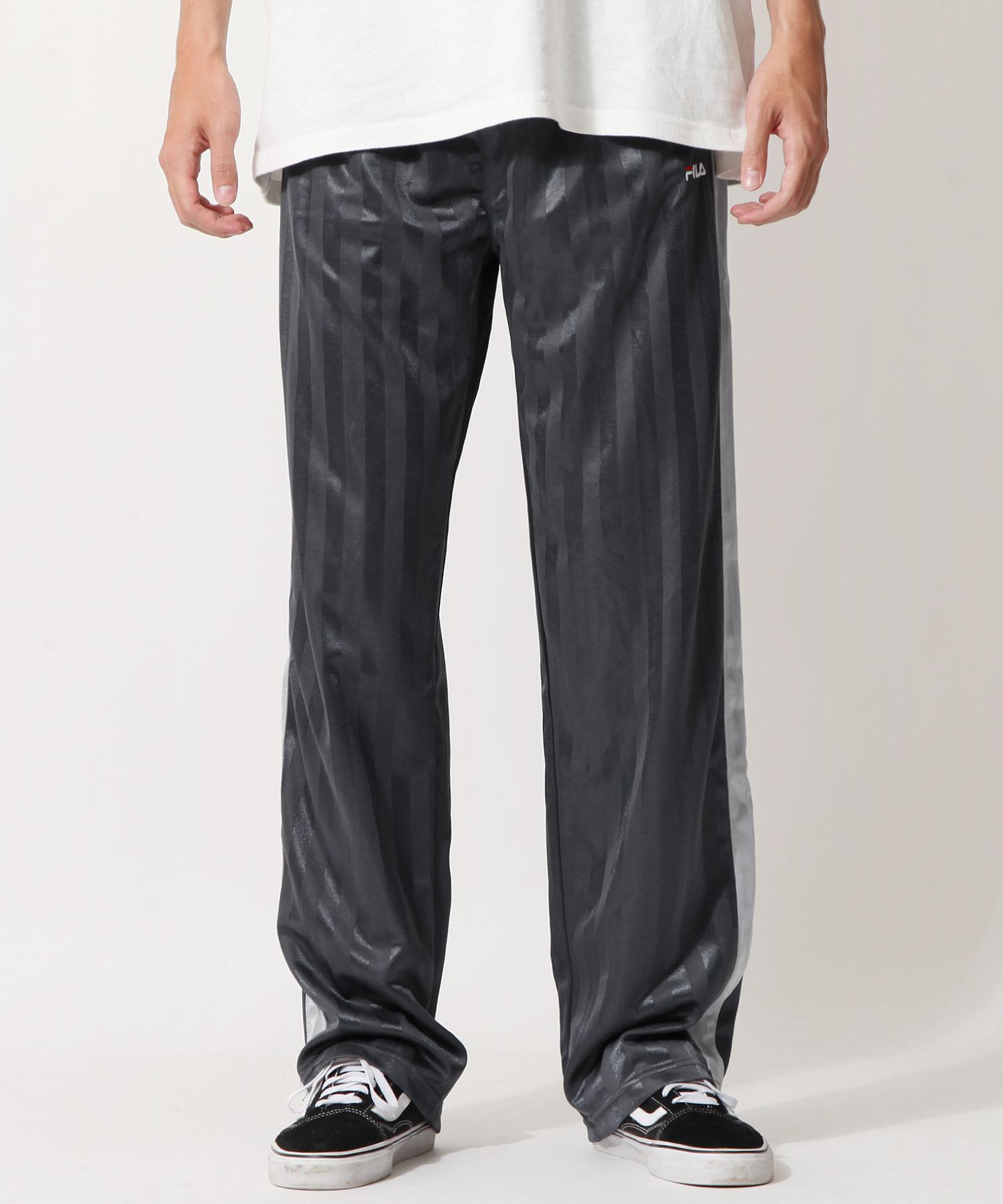 【FILA】寬版針織運動褲 6