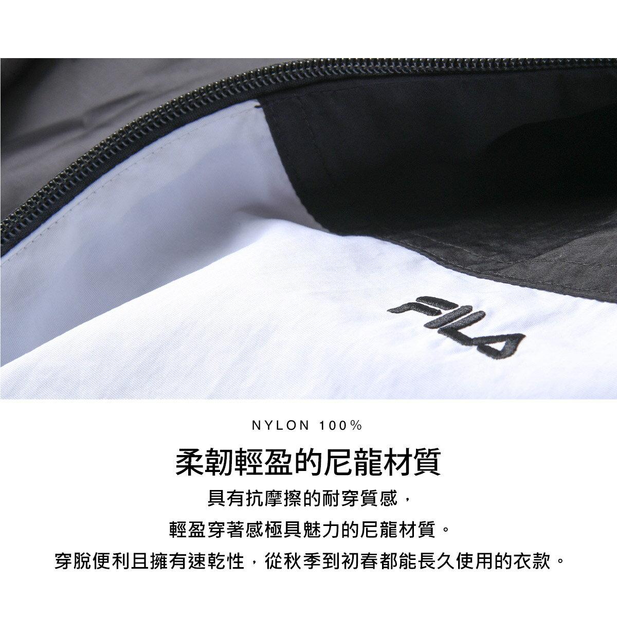 【FILA】LOGO刺繡登山外套 9