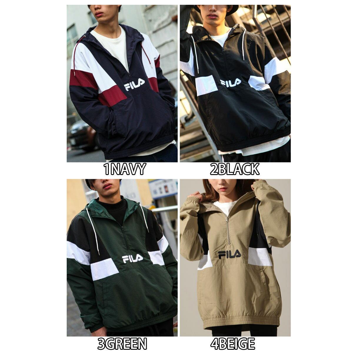 【FILA】半拉鍊運動衫 寬版 3