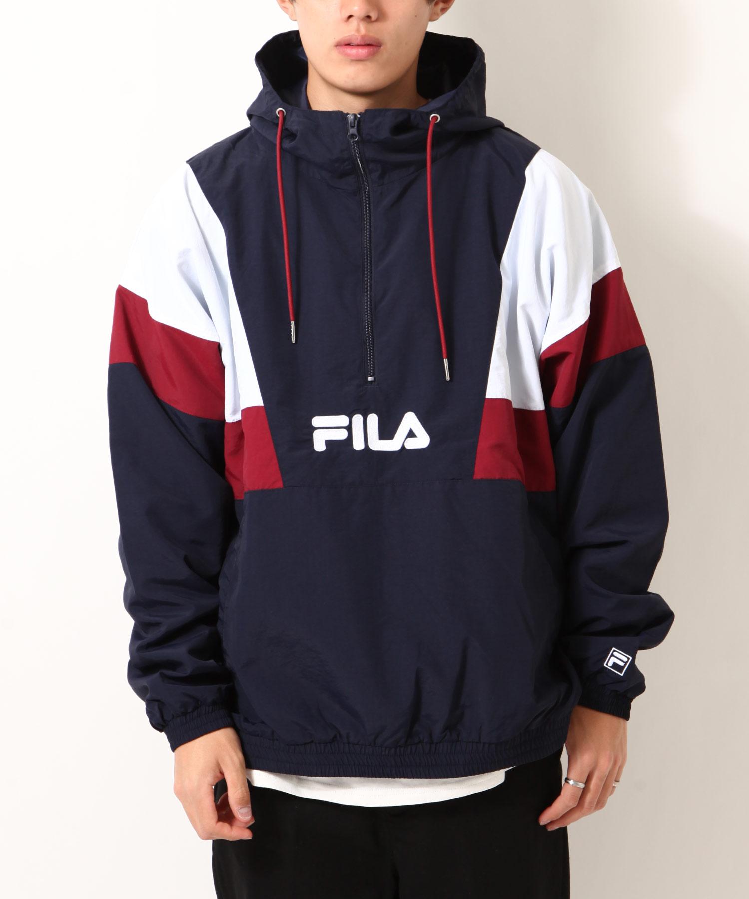 【FILA】半拉鍊運動衫 寬版 1
