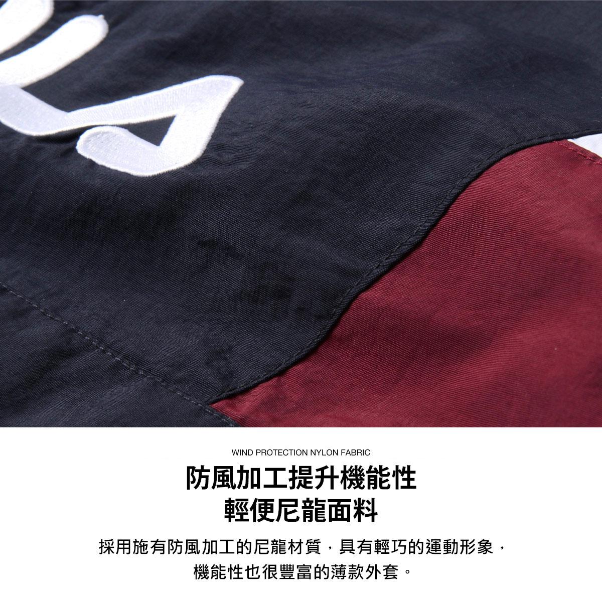 【FILA】半拉鍊運動衫 寬版 5