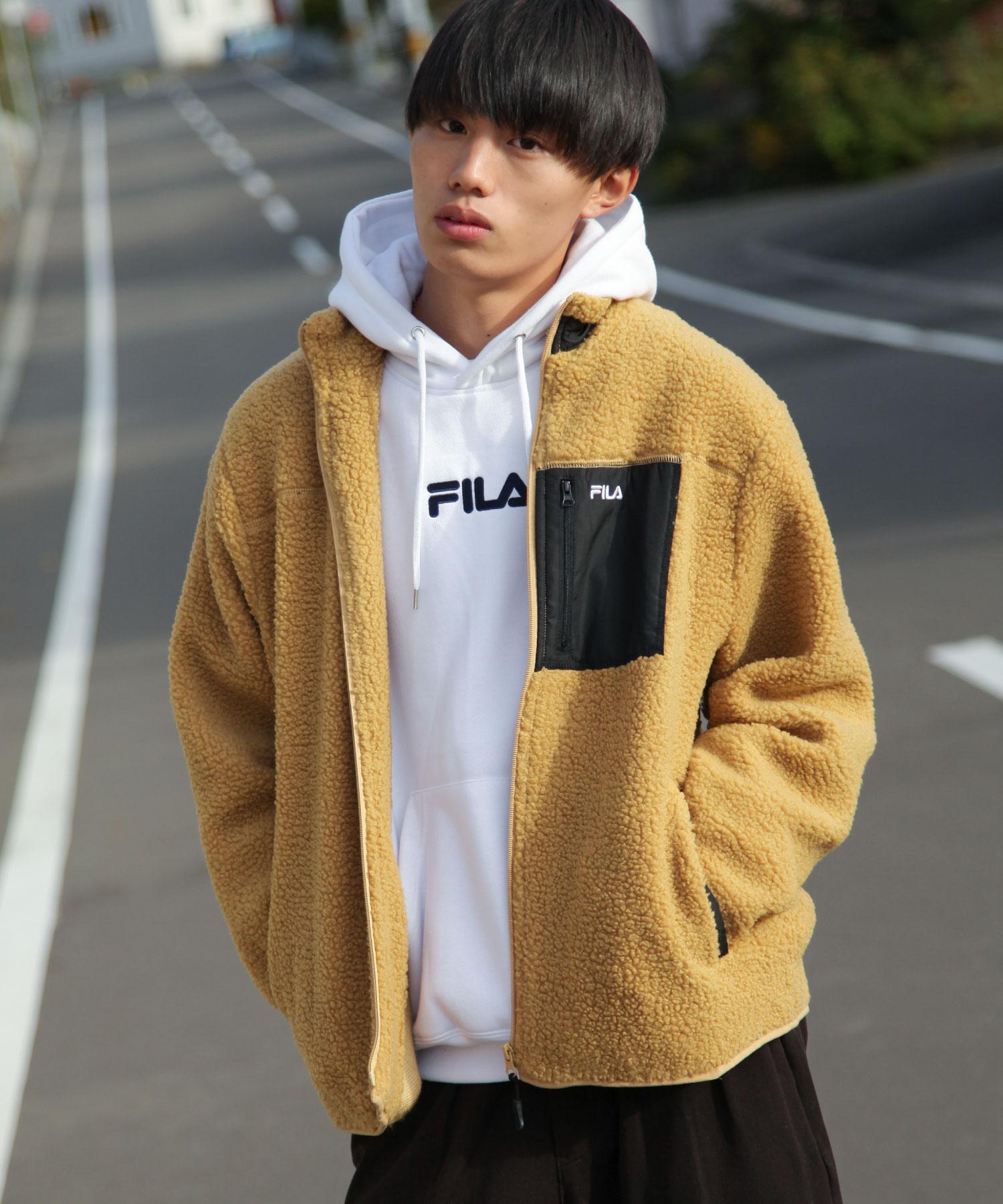 【FILA】BOA絨毛夾克 5