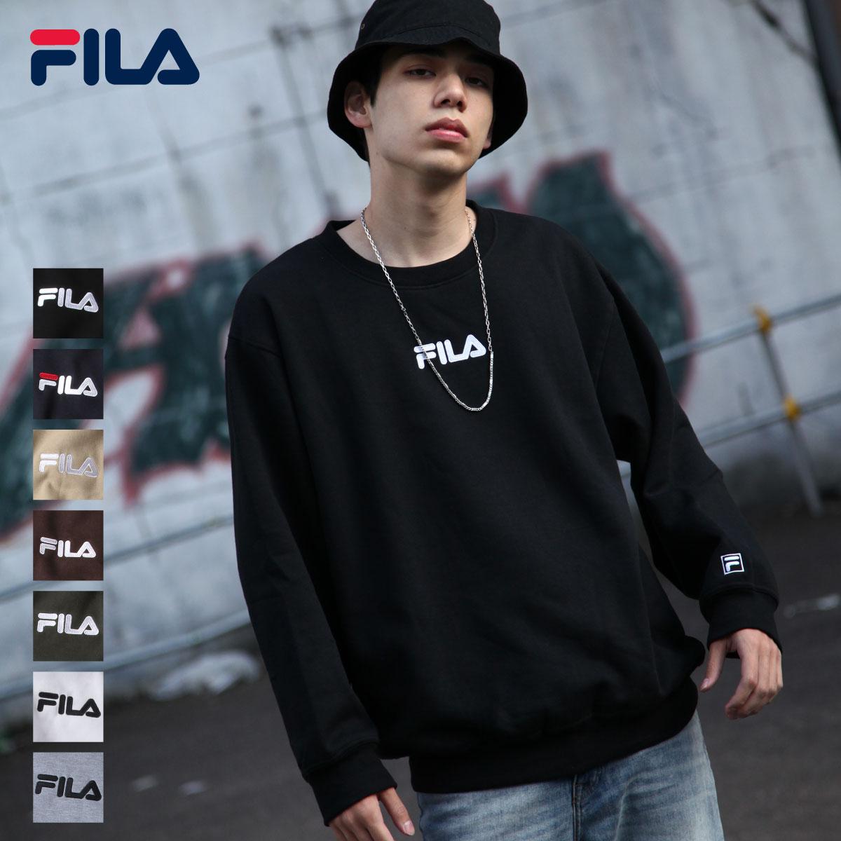 【FILA】中心刺繡運動衫 0