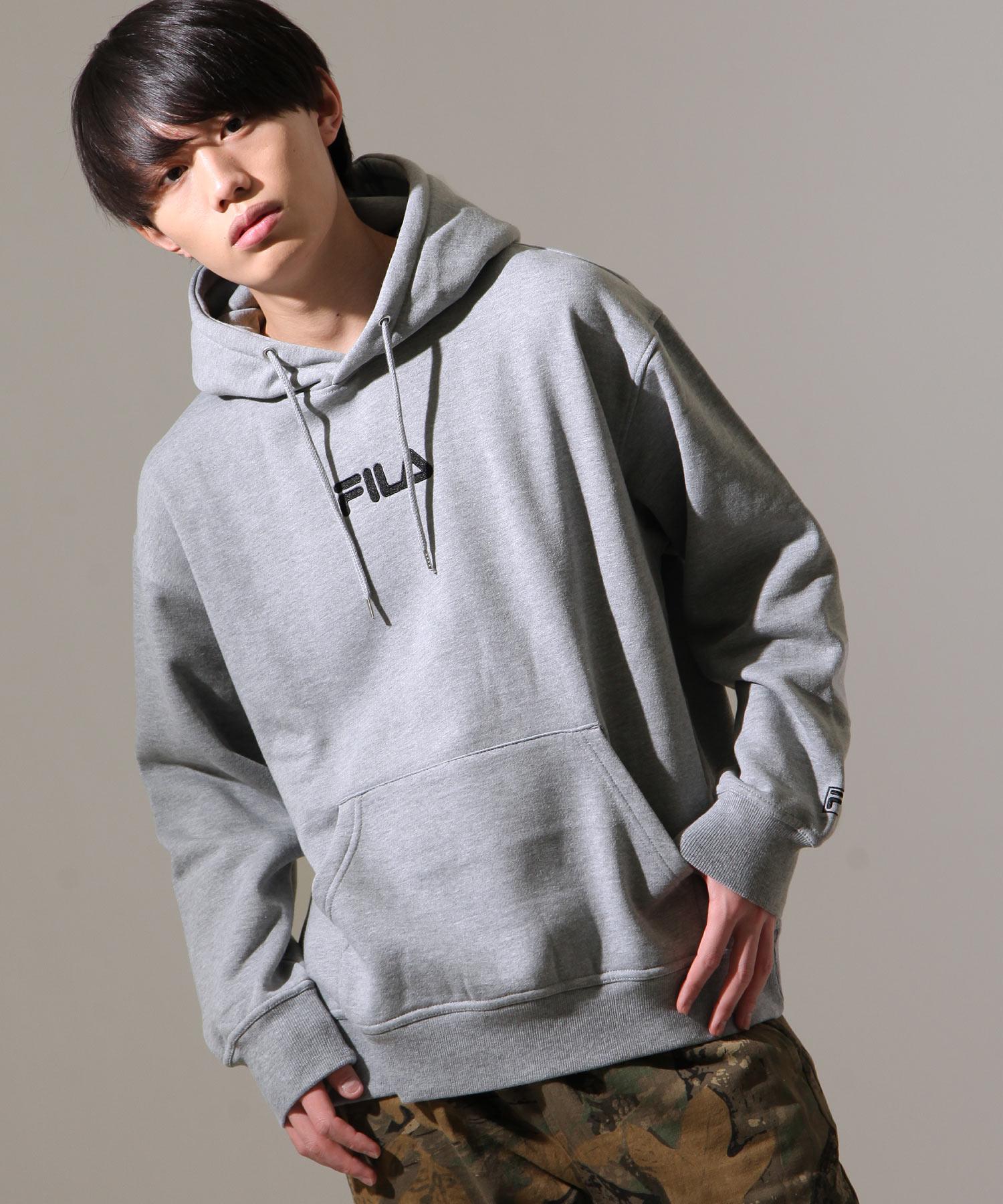 【FILA】中心刺繡連帽TEE 1