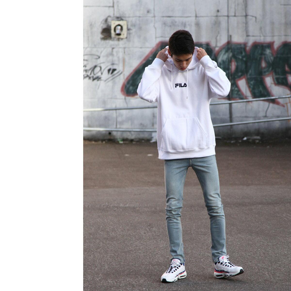 【FILA】中心刺繡連帽TEE 6